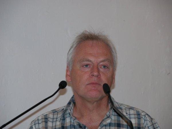 Halvard Sivertsen at the 2008 Hydra Rebetiko Conference.